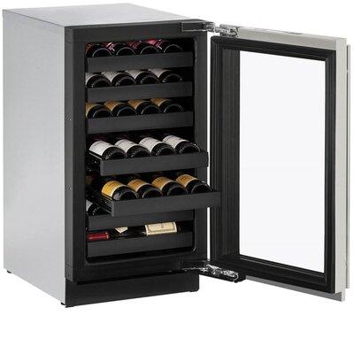 31 Bottle 3000 Series Single Zone Built-in Wine Cellar Hinge Orientation: Right