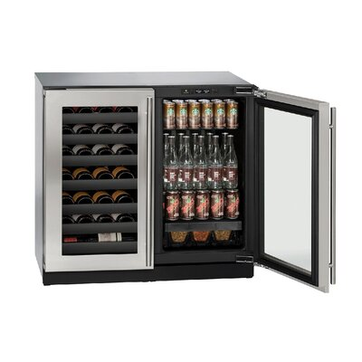 42 Bottle 3000 Series Dual Zone Built-in Wine Cellar