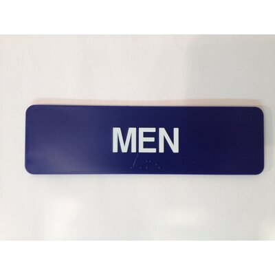 Men's Sign