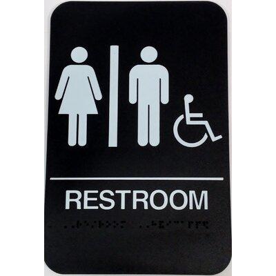 Restroom Handicap Sign