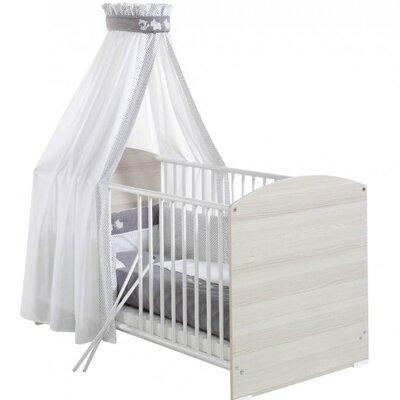 Schardt 4-tlg. Babybettwäsche-Set Amigos-Dekor