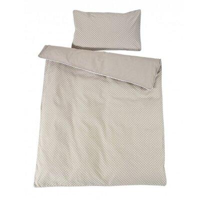 Schardt Bettwäsche-Set Pünktchen-Dekor aus Baumwolle