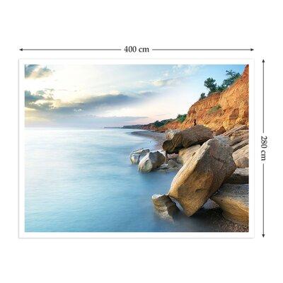 The Binary Box Rocky Shoreline Self Adhesive Wallpaper