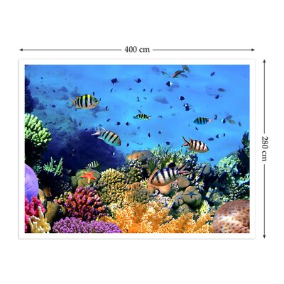 The Binary Box Coral Reef Self Adhesive Wallpaper
