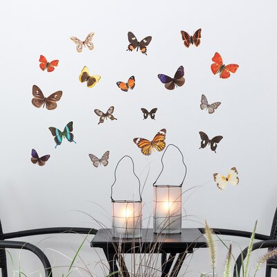 The Binary Box Autumn Butterfly Wall Stickers