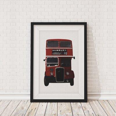 The Binary Box British Bus Framed Photographic Print