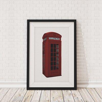 The Binary Box British Phone Box Framed Photographic Print