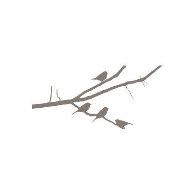 The Binary Box Branch of Birds Wall Sticker
