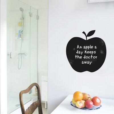 The Binary Box Chalkboard Apple Wall Sticker