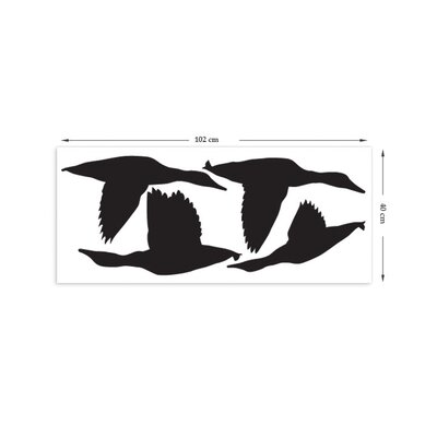 The Binary Box Migrating Ducks Wall Stickers