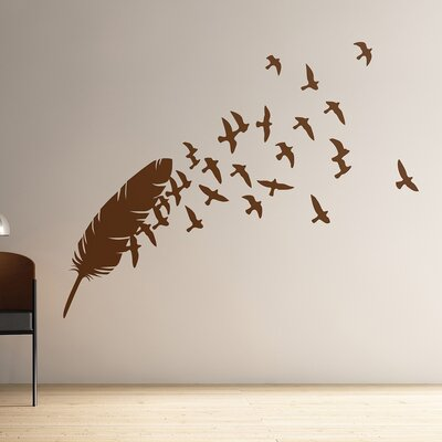 The Binary Box Birds of a Feather Wall Stickers