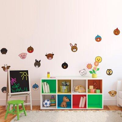 The Binary Box Animaru Character Wall Stickers