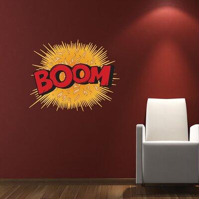 The Binary Box Comic Book Boom! Wall Sticker