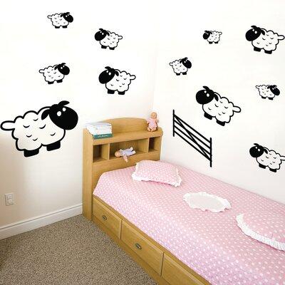 The Binary Box Children's Sheep Wall Sticker