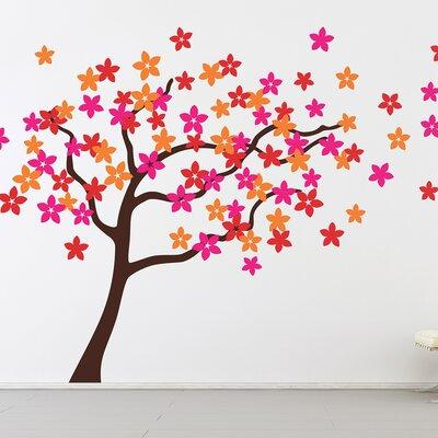 The Binary Box Flower Tree Wall Sticker