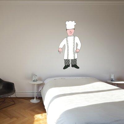 The Binary Box Mr Benn Chef Wall Sticker