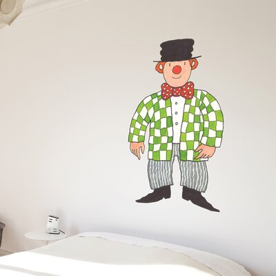 The Binary Box Mr Benn Clown Wall Sticker