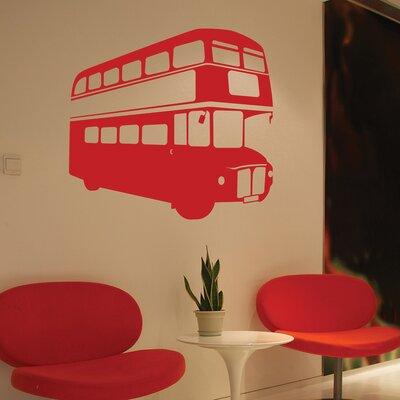 The Binary Box London Bus Wall Sticker