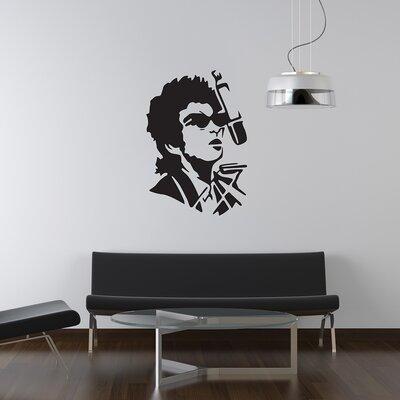 The Binary Box Bob Dylan Wall Sticker