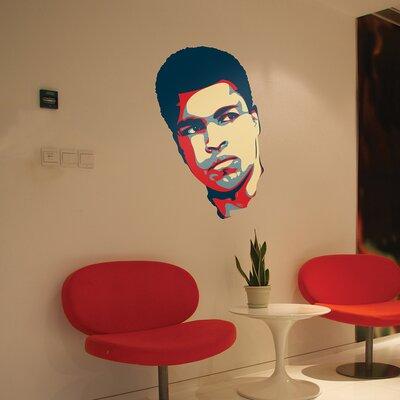The Binary Box Muhammad Ali Wall Sticker