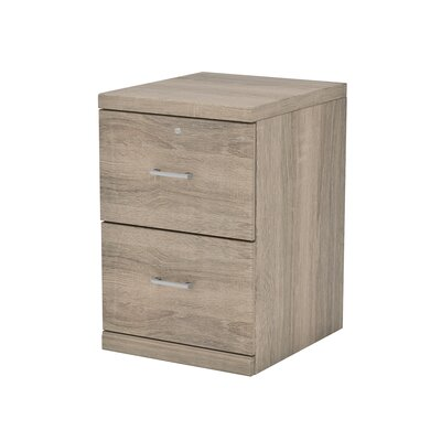 Berkhead 2 Drawer File Cabinet Finish: Oak