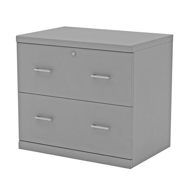 Otterbein 2 Drawer File Cabinet Finish: Gray