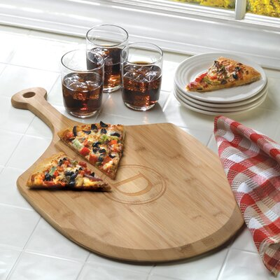 JDS Personalized Gifts Personalized Gift Delizioso Bamboo Pizza Board