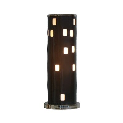 """Nova Finestra 22"""" H Table Lamp with Drum Shade"""