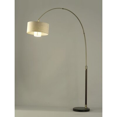 "Nova Veld 90"" Arched Floor Lamp"