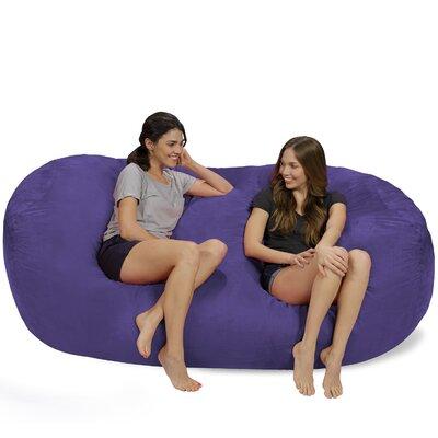 Bean Bag Sofa Upholstery: Purple