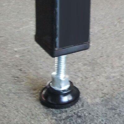 Single Yard Kennel Adjustable Foot