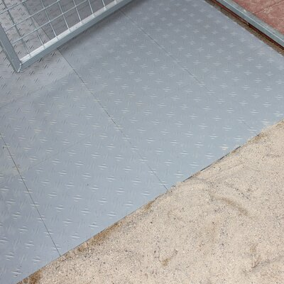 "Basic Yard Kennel Tile Flooring System Size: 0.5"" H x 96"" W x 192"" L"