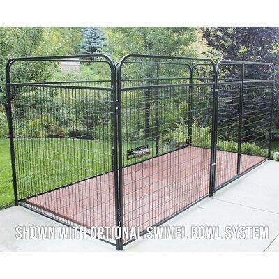 "Allie Welded Wire Steel Yard Kennel Size: 72"" H x 72"" W x 72"" L"