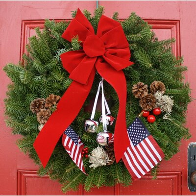 Worcester Wreath Inc. Classic Let Freedom Ring Wreath