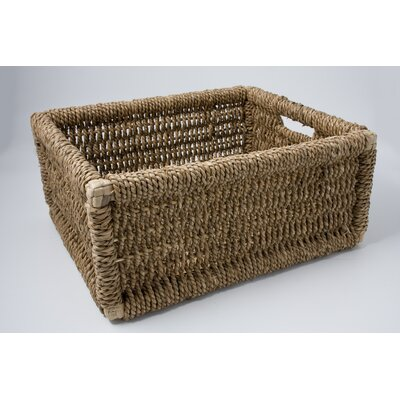 Chairworks Twisted Rush Newspaper Basket