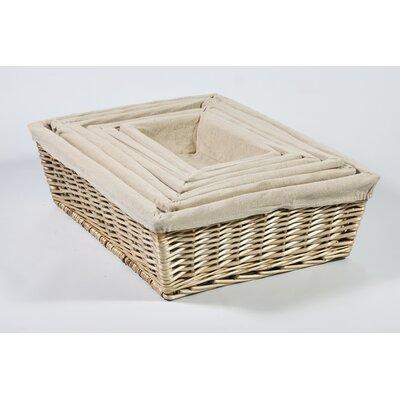 Chairworks 6 Piece Nesting V Storage Basket Set
