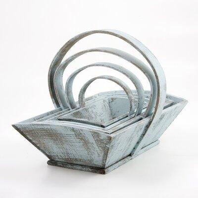 Chairworks 4 Piece Nesting French Trug Set
