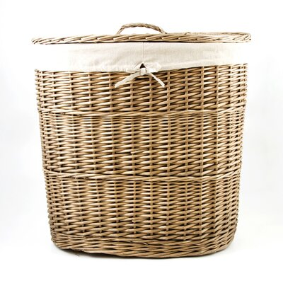 Chairworks 2 Section Oval Laundry Hamper