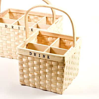 Chairworks 4 Bottle Wine Basket