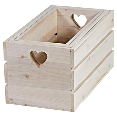 Chairworks 6 Piece Nesting Wood Crate Set