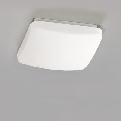 ACB Iluminacion Soft 1 Light Flush Ceiling Light