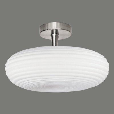ACB Iluminacion Adil 3 Light Semi Flush Ceiling Light