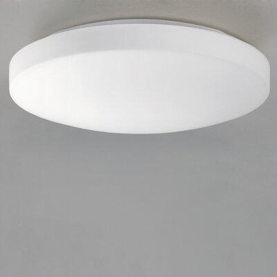 ACB Iluminacion Moon 1 Light Flush Ceiling Light