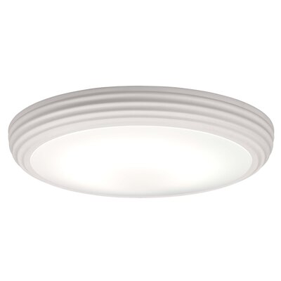 ACB Iluminacion 1 Light Flush Ceiling Light