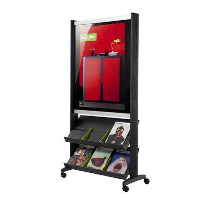 Easy Office Free Standing Magazine Rack