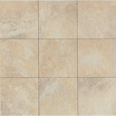 "Rok 13"" x 13"" Porcelain Field Tile in Almond"
