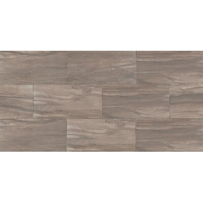 "Athena 12"" x 24"" Porcelain Wood Look/Field Tile in Cliff"
