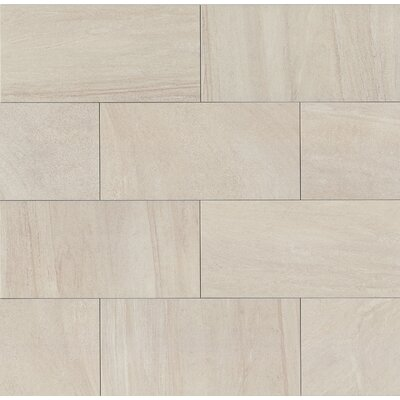 "Purestone 12"" x 24"" Porcelain Wood Look/Field Tile in Grigio"