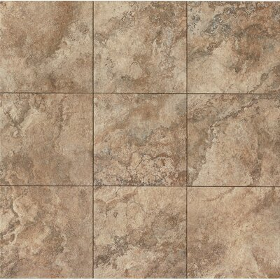 "Forge 13"" x 13"" Porcelain Field Tile in Walnut"