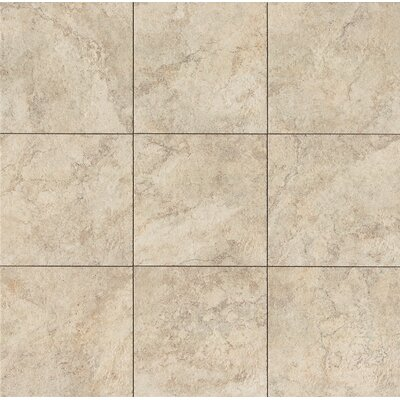 "Forge 13"" x 13"" Porcelain Field Tile in White"